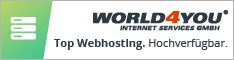 Werbung - World4You Webhosting