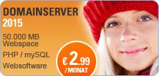 Homepage und Domain